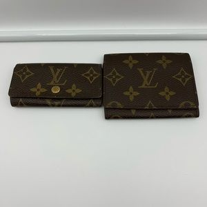 💯Auth Louis Vuitton card case bundle